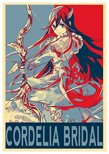 Instabuy Posters Fire Emblem Propaganda Cordelia Bridal - A3 (42x30 cm)