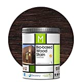 Barniz Madera Exterior | Bio-based Wood Stain | 1 L | Barniz ecológico para...