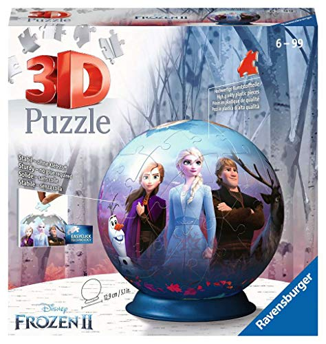 Ravensburger Frozen 2 3D Puzzle Ball, Multicolore, 11142