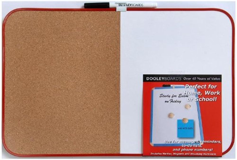 Dooley Vinyl Framed Combo Board, 11 x 17 Inch, 1 Board (1117CO MBV)