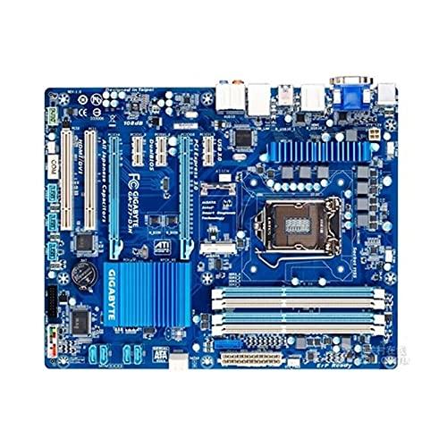 lilili Placa Base Placa Base para computadora Compatible Fit for Gigabyte GA-Z77-D3H Placa Base de Escritorio Original usada Z77-D3H Z77 zócalo LGA 1155 DDR3