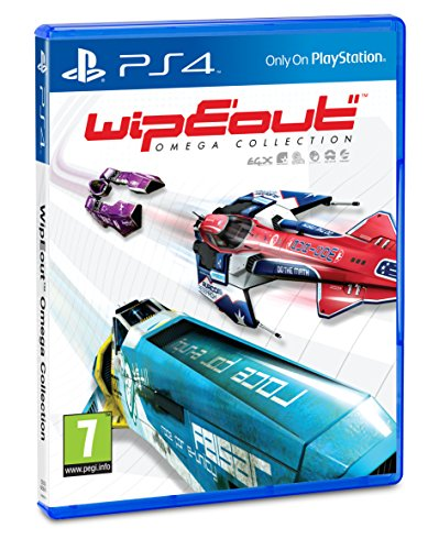 Sony WipEout Omega Collection, PS4 Básico PlayStation 4 vídeo - Juego (PS4, PlayStation 4, Racing,...