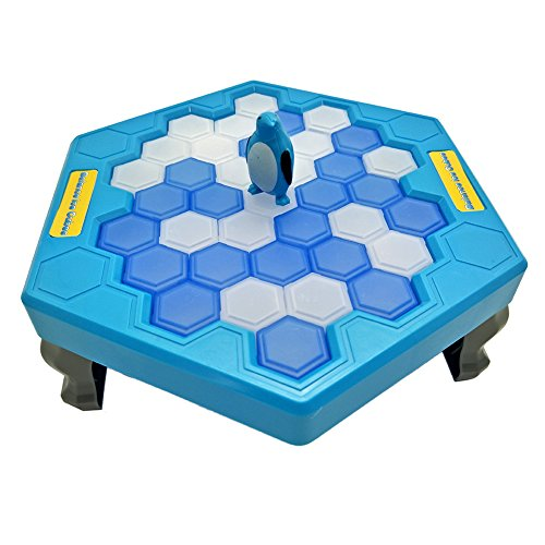 Maggift Iceblock Breaking Game Save Penguin Table Game