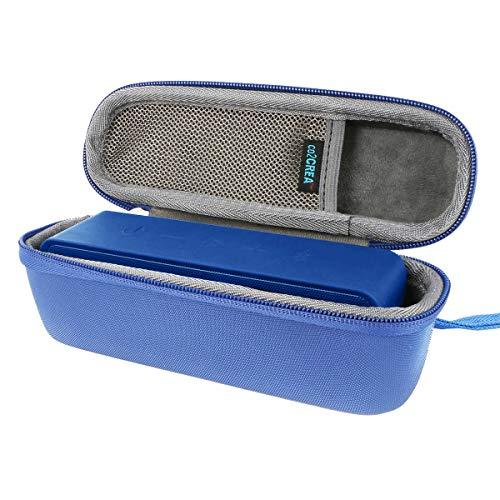 co2crea Hard Travel Case for Anker SoundCore 1/2 / Motion B Portable Outdoor Sports Bluetooth Speaker (Blue)