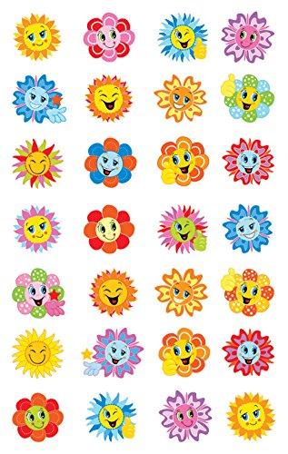 AVERY Zweckform 53137 Papier Sticker Blume 56 Aufkleber