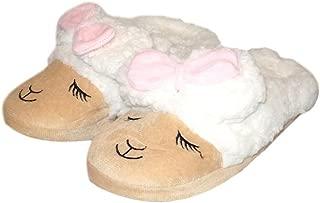Toddler Kids Llama Slipper Sheep Warm Plush Indoor House Shoe