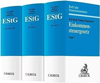 Einkommensteuergesetz: Gesamtwerk in 3 Bänden