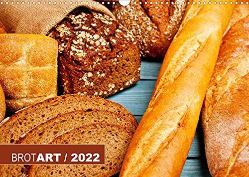 BROTART   2022 (Wandkalender 2022 DIN A3 quer)