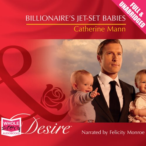 Billionaire's Jet-Set Babies audiobook cover art