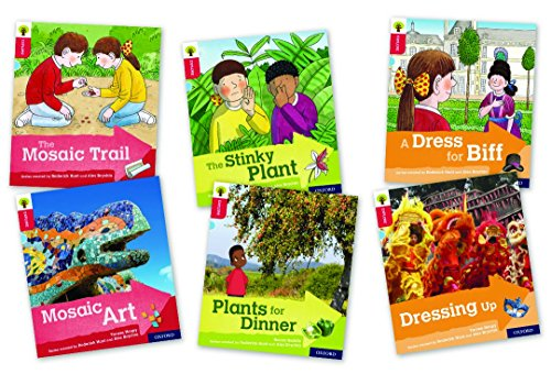 Oxford Reading Tree Explore with Biff, Chip and Kipper: Oxford Level 4: Mixed Pack of 6の詳細を見る