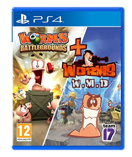Worms Battlegrounds + Worms Wmd - Double Pack Ps4 - Other - Playstation 4