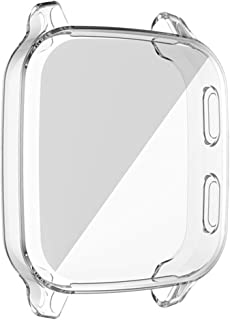 kdjsic Beschermhoes Voor -Garmin Venu SQ Smart Watch Plating TPU Soft Cover Full Screen Protector Shell Voor -Garmin Venu Sq