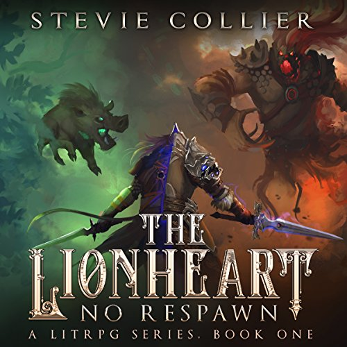The Lionheart: A LitRPG Novel audiobook cover art