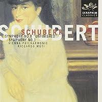 Schubert: Symphonies Nos. 1 & 8 by Riccardo Muti (1999-06-15)