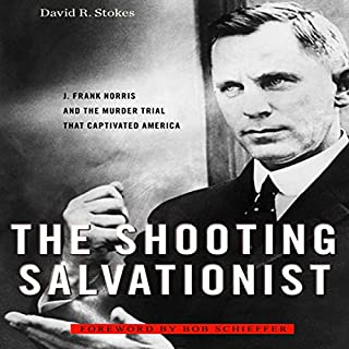 The Shooting Salvationist audiobook cover art