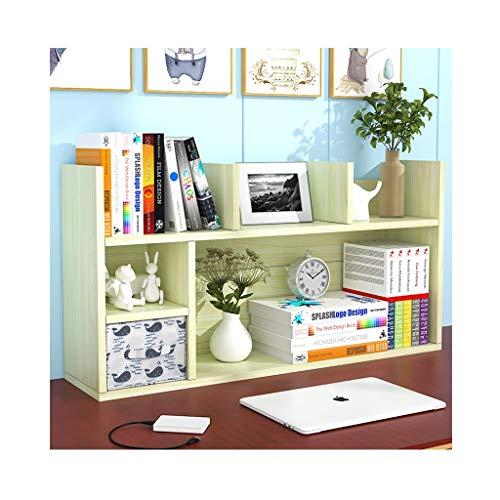 Organizador de Escritorio Estante de madera de escritorio con escritorio del cajón Organizador de estilo libre estilo encimera estantería estantería de almacenamiento de estantería para suministros de