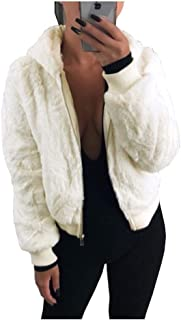 Abetteric Womens Oversize Baggy Lapel Solid Color 3//4 Sleeve Outwear Jacket