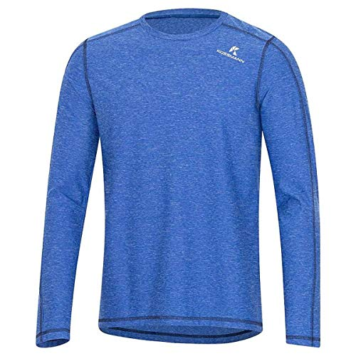 KOSSMANN Ultra Lite C-Shirt Langarm Herren blau Gr. XL