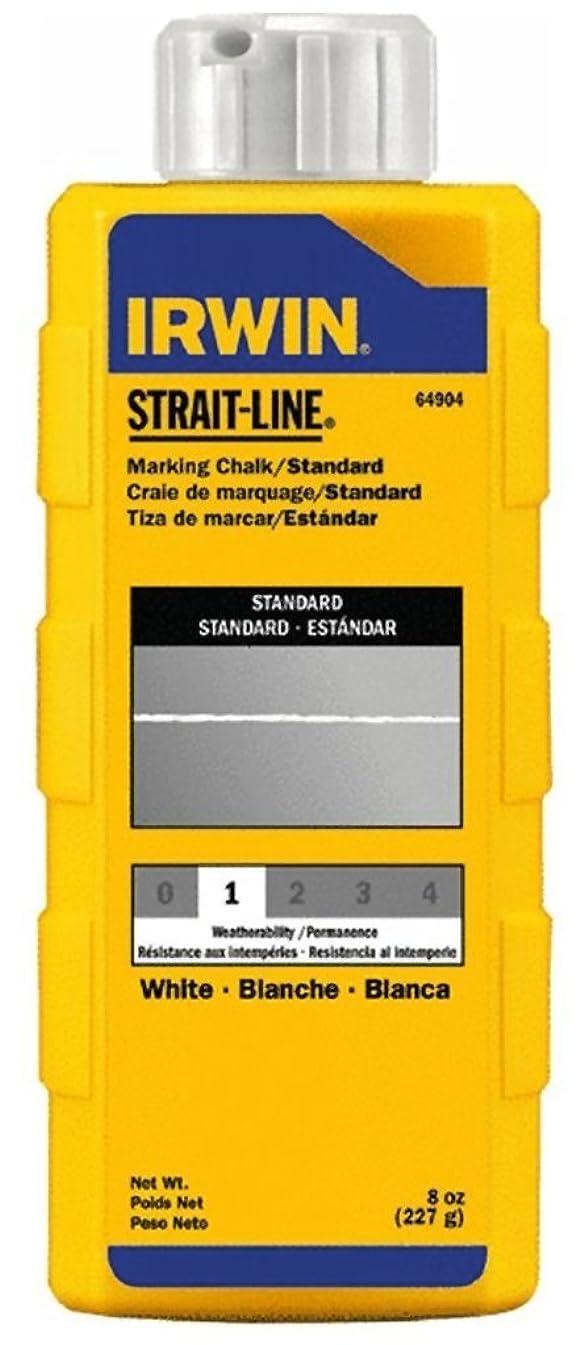 2 Pack Irwin 64904 Strait-Line 8-oz Standard Marking Chalk - White
