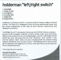 Left Right Switch - Holderman CDS