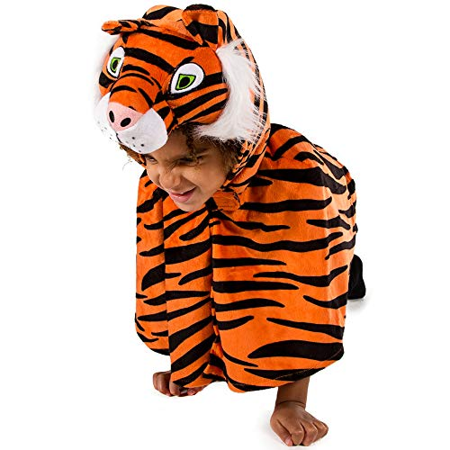 Pretend to Bee- Tiger Kids Costume Years 9969 Cape Tigre 3/6 Ans, (3/5), Orange, 3-6