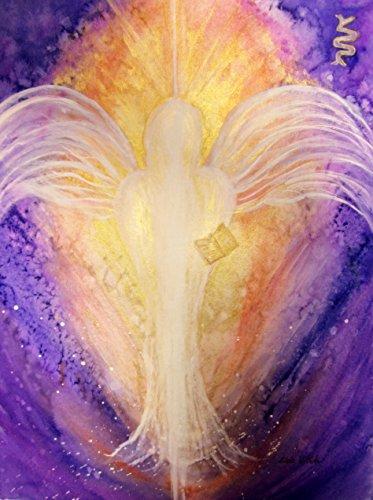 silwi-art***** Engelbild Schutzengel Engelkarte XL Kunstfoto limitiert und handsigniert Erzengel Metatron Geschenkidee