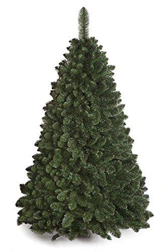 DWA Albero di Natale Tradizionale in Scatola, Colore: Verde Bosco (Natural Pine, 150 cm)