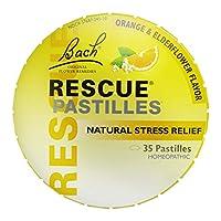 Nelson Bach, Rescue Pastilles Elder Orange 50 gms
