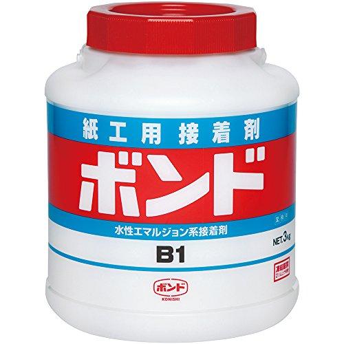 ボンド 紙工作用接着剤 B1 3kg #41947