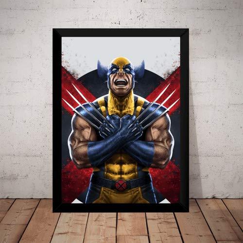 Quadro Wolverine Logan Arma X-men Marvel Hq Arte