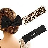 Deft Bun Maker for Hair - Magic French Twist Wire Hair...