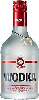 Mampe Wodka   Milder Weizenwodka - fünffach gefiltert   Berlins älteste Spirituosenmanufaktur – Tradition seit mehr als 160 Jahren   1 x 0.7 Liter   40% Vol.