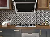 Starry Tile Stickers - Fireplace - Waterproof & Removable - Peel and...