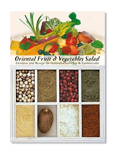 Feuer & Glas - 8 épices pour Salade orientale de fruits et légumes
