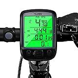 otumixx Contachilometri Bici Wireless, 29 Funzioni Impermeabili Ciclocomputer Grandi LED Display...