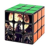 マジックキューブ 魔方 3x3x3 鬼滅の刃 Magic Cube 競技用 立体パズル 脳トレ 知育玩具 ポップ防止 プレゼント スピードキューブ 初級者向け トレーニング 回転スムーズ
