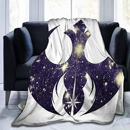 Star Wars Symbols - Manta de micro forro polar ultrasuave para sofá, cama y sofá para adultos y niños