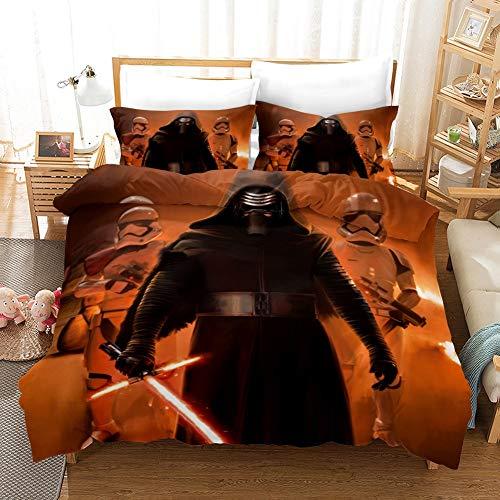 Vampsky Star Wars adolescentes hogar Ropa cama 3 piezas