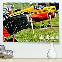 Modellflieger / CH-Version (Premium, hochwertiger DIN A2 Wandkalender 2022, Kunstdruck in Hochglanz): Faszinierende Flugzeugmodelle im Flug fotografiert. (Monatskalender, 14 Seiten )