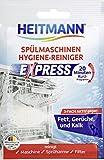 HEITMANN Express Spülmaschinen Reiniger 30g: hygienische Sauberkeit fürs Geschirr, Hygienereiniger...