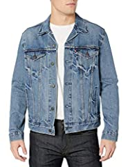 Classic button-front denim jacket featuring dual flap chest pockets with logo tag Adjustable button waistband and cuffs Regular fit Please refer to the secondary image for size chart