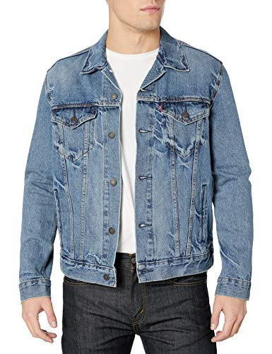 Levi's Men's The Trucker Jacket, Spire, X-Large