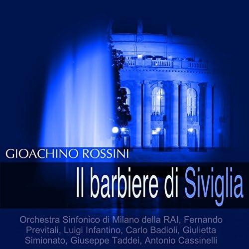 Orchestra Sinfonico di Milano della RAI, Fernando Previtali, Luigi Infantino, Carlo Badioli