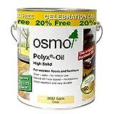Osmo 3032 Polyx Oil Original Satin 3 litres 20% FREE Anniversary Tin
