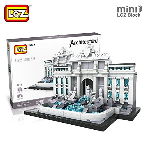 Loz 1015. Kit de construccion miniaturizada. Fontana de Trevi. 677 piezas