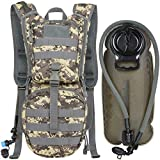 MARCHWAY Tactical Molle Hydration Pack Backpack with 3L TPU Water Bladder, Military...