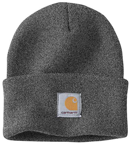 Carhartt Wintermütze für Sie und Ihn, OFA, 100% Polyacryl,elastisch, Grau,...
