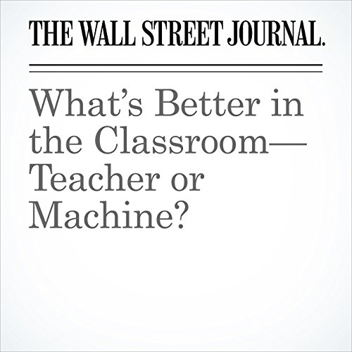 What's Better in the Classroom—Teacher or Machine? copertina