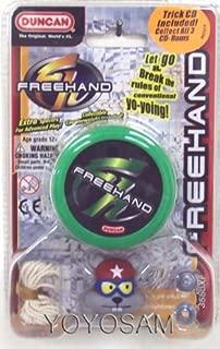 Duncan Freehand Yo-Yo with Trick CD
