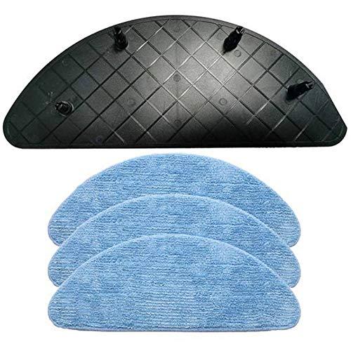 Piezas de Repuesto de la aspiradora Soporte del Soporte de la Placa MOP con el paño del trapeador Ajuste para ILIFE V7 V7S Pro Plus Reemplazo de la Herramienta de Limpieza de Interiores Accesorios de